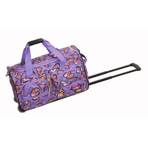 "ROCKLAND 22"" ROLLING DUFFLE BAG LOVE"