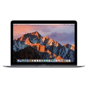 "Apple MacBook 12"" Space-Gray Laptop - MLH82LL/A"