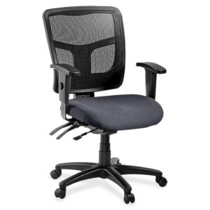 Lorell Managerial Mesh Mid-Back Chair - 86201-05
