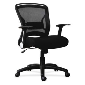 Lorell Flipper Arm Mid Back Chair - 59519