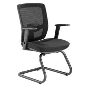 Lorell Variable Resist Lumbar Guest Chair – 84563