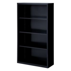 Lorell Fortress Series Black Bookcases - 41288