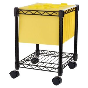 Lorell Compact Mobile Wire Filling Cart - 62950
