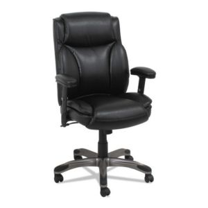 Alera Veon Series Leather MidBack Manager's Chair