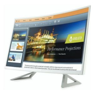 "HP N320C 32"" Class (31.5"")<br>Full HD LED Curved Monitor"