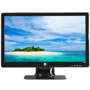 """HP Widescreen LED Backlit 23"""" LCD Computer Monitor"""
