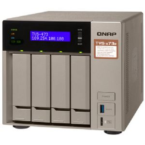 QNAP TVS-473e 4-Bay Network Attached Storage