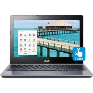 "Acer Intel® Celeron® 11.6"" Touch Chromebook (Refurb)"