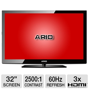 "Ario HE3270 32"" 720p 60Hz LED HDTV"