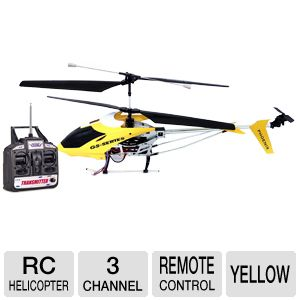 Odyssey Phoenix V2 Yellow RC Flying Helicopter