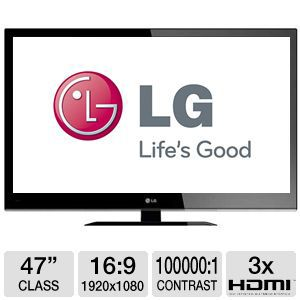 LG 47&quot; 1080p 120Hz LED HDTV