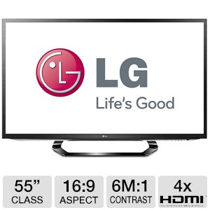 "LG 55"" Class 1080p 120Hz LED 3D Smart HDTV"