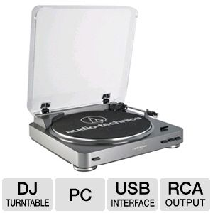 Audio Technica AT-LP60USB LP to Digital Recording