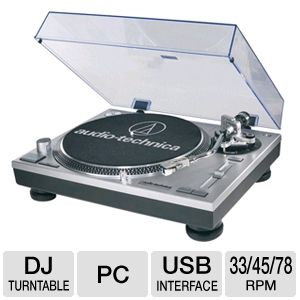 Audio Technica AT-LP120-USB Direct Drive Turntable