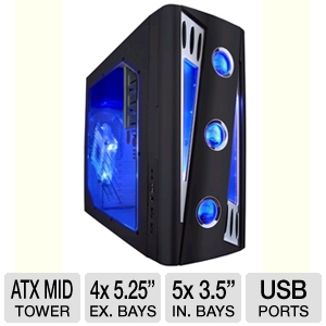 Apevia X-Cruiser2 Metal Mid-Tower Case