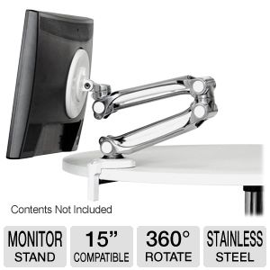 Atdec Levitate Stainless Steel-Aluminum Stand