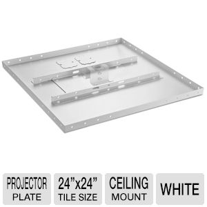 "Atdec TH-PT24 24"" Projector Plate Ceiling Mount"
