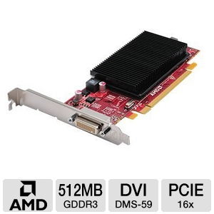 ATI FirePro 2270 512MB GDDR3 DMS-59 Video Card