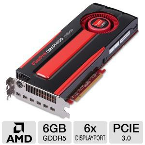 AMD FirePro W9000 6GB GDDR5 Video Card