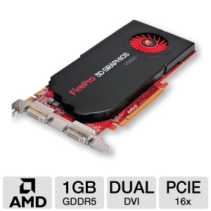 ATI FirePro V5800 1GB GDDR5 DVI Video Card