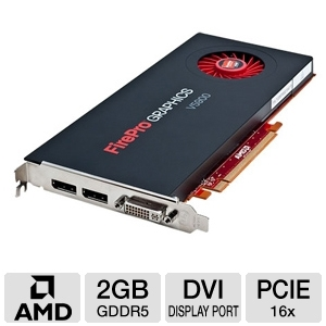 AMD FirePro V5900 2GB GDDR5 PCIe Workstation Card