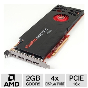 AMD FirePro V7900 2GB GDDR5 PCIe Workstation Card