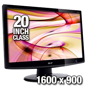 Acer H203H Bbmd 20&quot; Widescreen LCD Monitor