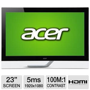 Acer 23&quot; 1080p LED Touchscreen, Designed for Win8