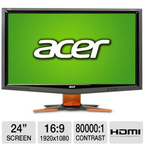 "Acer 3D 24"" Widescreen LCD Monitor"
