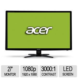 "Acer G276HL 27"" Class LED Widescreen Monitor"