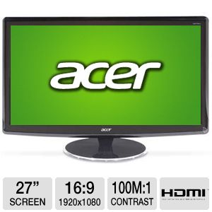 "Acer H274HL 27"" Class Widescreen LED Monitor"