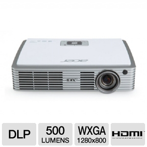 Acer K330 WXGA Home Theater DLP Projector REFURB