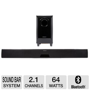 Affinity SBX500 2.1 Channel Soundbar System