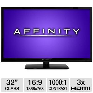 "Affinity LE3251 32"" 720p 60Hz LED HDTV"