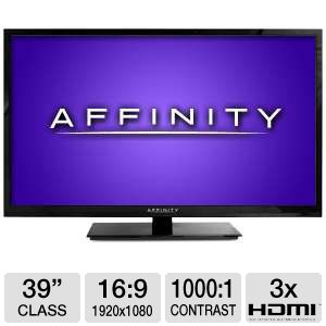 "Affinity LE3951 39"" 1080p 60Hz LED HDTV"