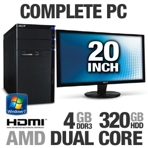 Acer AM3400-B2072 PV.SE002.003 Desktop