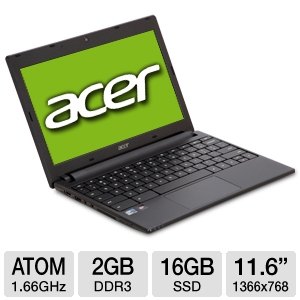 Acer AC700-1090 11.6&quot; 3G Chromebook REFURB