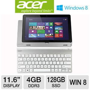 "Acer Iconia W700 11.6"" Core i5 128GB SSD Tablet"