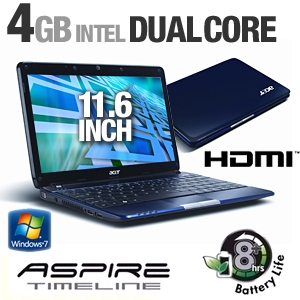 Acer Aspire Timeline AS1810TZ-4906 Notebook PC