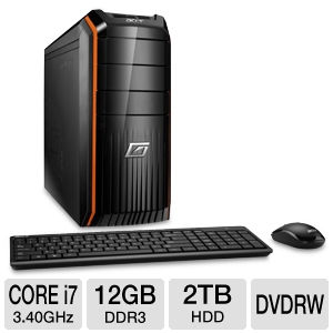 Acer Predator AG3620-UR20P Gaming PC