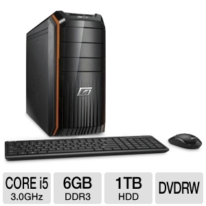 Acer AG3610 Core i5-2320 6GB, 1TB, GeForce GT 520