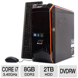 Acer Predator 2TB Intel i7 Gaming PC