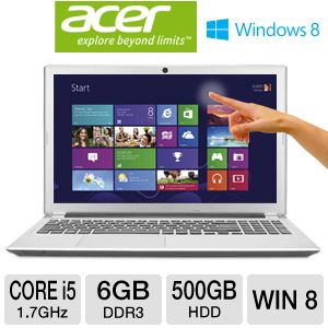 Acer Aspire 15.6&quot; Core i5 500GB HDD Notebook
