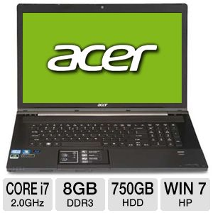 "Acer Aspire AS8951G-9600 18.4"" Notebook PC"
