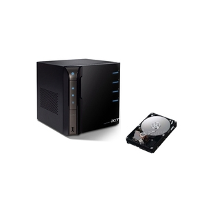Aspire EasyStore H340 Home Server 2TB Bundle