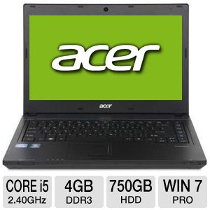 "Acer TravelMate TM4750-6412 14"" Notebook PC"