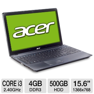 "Acer TravelMate TM5744-6467 15.6"" Notebook  REFURB"