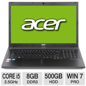 "Acer 17.3"" Core i5 500GB HDD Notebook PC"