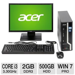 Acer Veriton X 2nd gen Core i3 Desktop PC
