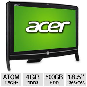 "Acer Veriton Z290G 18.5"" Atom 500GB All-In-One PC"
